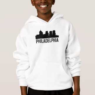 Stadt-Skyline Philadelphias Pennsylvania Hoodie