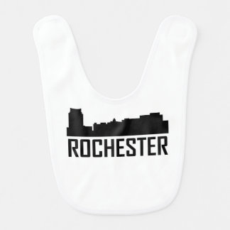 Stadt-Skyline Rochesters Minnesota Lätzchen