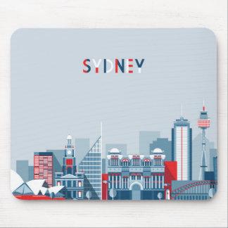 Stadt-Skyline Sydneys Australien Mousepad