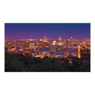 Stadt-SkylineBelvedere Kondiaronk Montreals Kanada Kunst Photo