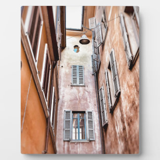 Stadt-Szene des Italiener-IMG_1785 2 Fotoplatte