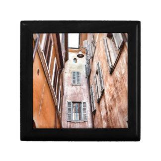 Stadt-Szene des Italiener-IMG_1785 2 Geschenkbox