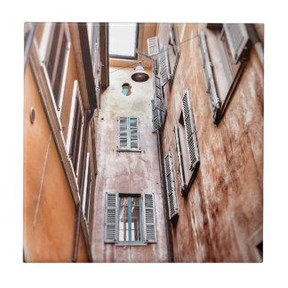 Stadt-Szene des Italiener-IMG_1785 2 Keramikfliese