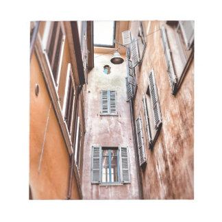 Stadt-Szene des Italiener-IMG_1785 2 Notizblock