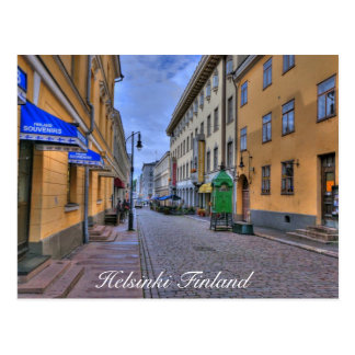 Stadt-Szene Helsinkis Finnland Postkarten