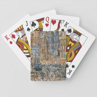 Stadt-Szene I Spielkarten