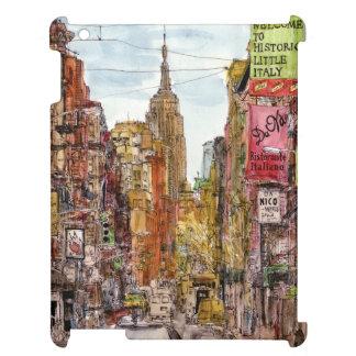 Stadt-Szene II iPad Hülle