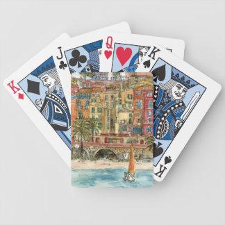 Stadt-Szene V Bicycle Spielkarten