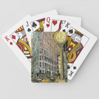 Stadt-Szene VII Spielkarten