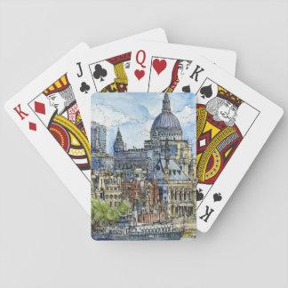 Stadt-Szene X Spielkarten