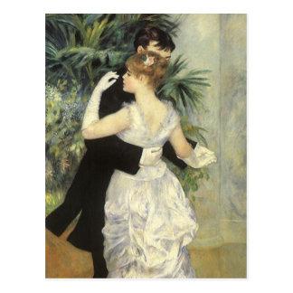 Stadt-Tanz durch Renoir Vintage Postkarten