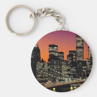 Stadt-Visions-Schlüsselkette Standard Runder Schlüsselanhänger