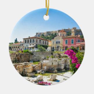 Stadt von Athen, Griechenland Keramik Ornament