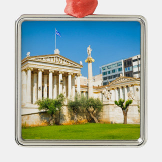 Stadt von Athen, Griechenland Silbernes Ornament
