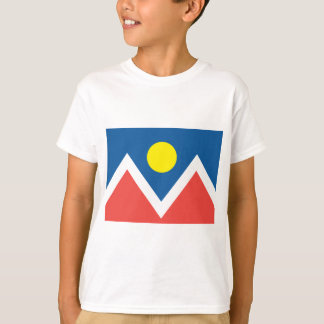 Stadt von Denver-Flagge T-Shirt