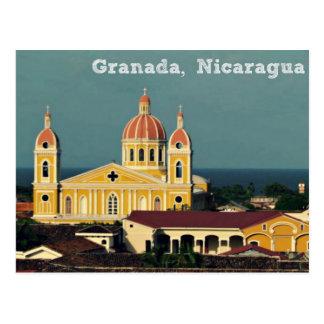 Stadt von Granada, Nicaragua Postkarte