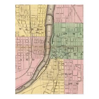 Stadt von Grand Rapids, Kent County Postkarte