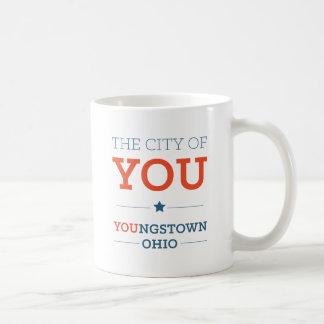 Stadt von Ihnen klassische weiße Tasse