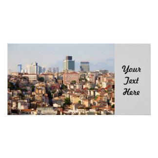 Stadt von Istanbul Foto Karten
