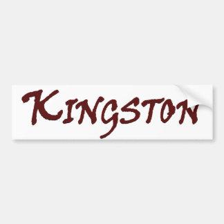 Stadt von Kingston MA Autoaufkleber