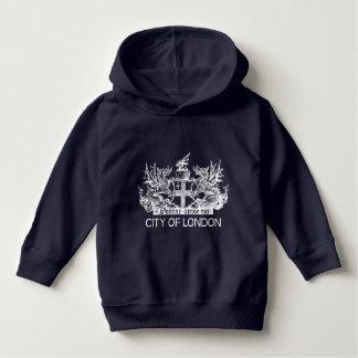 Stadt von London, Vintag, Wappen, England Hoodie