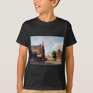 Stadtansicht durch Johan Hendrik Weissenbruch T-Shirt