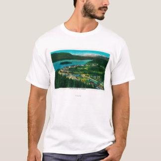 Stadtansicht von Cordova, AlaskaCordova, AK T-Shirt