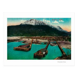 Stadtansicht von Skagway, AlaskaSkagway, AK Postkarte