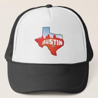 Stadtbild Austins Texas Truckerkappe