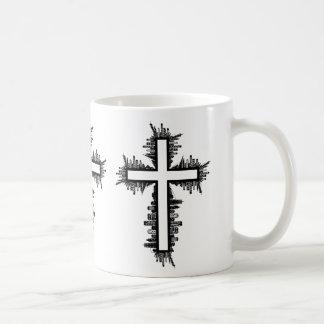 Stadtbild-Kreuz Kaffeetasse