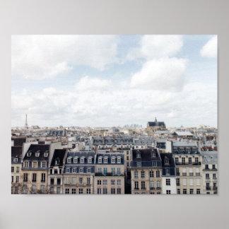 Stadtbild Paris Frankreich Poster