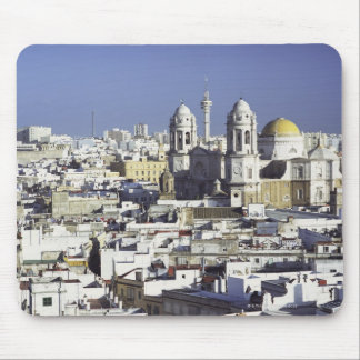 Stadtbild von Cadiz, Spanien Mousepad