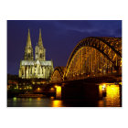 Stadtbild von Köln-Postkarte Postkarte