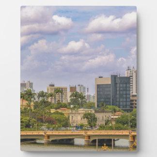 Stadtbild von Recife, Pernambuco Brasilien Fotoplatte