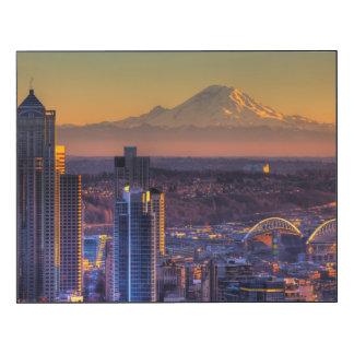 Stadtbildansicht von Seattle im Stadtzentrum