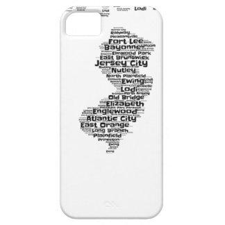 Städte von New-Jersey iPhone 5 Schutzhülle