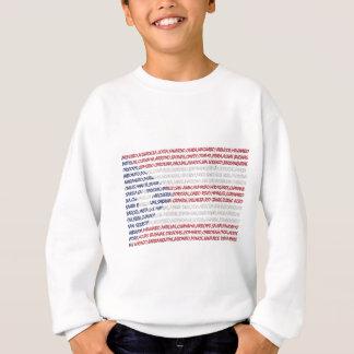 Städte von Puerto Rico Sweatshirt