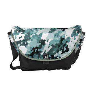 Städtische Camouflage-kundenspezifische Kurier Tasche