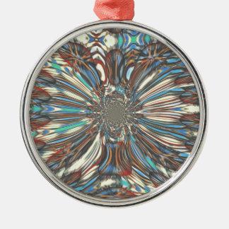 Städtische fantastische reizende Entwurf Farben Silbernes Ornament
