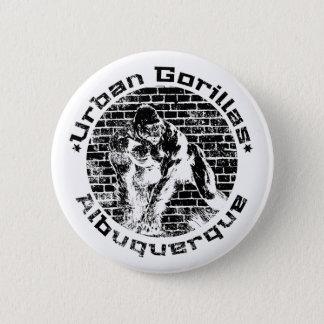 Städtische Gorillas Albuquerque Runder Button 5,7 Cm