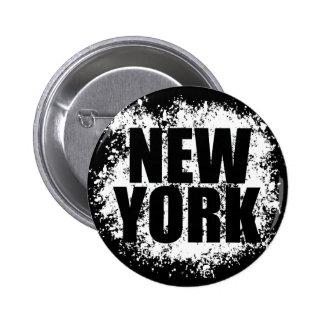 Städtische Graffiti New York Runder Button 5,7 Cm