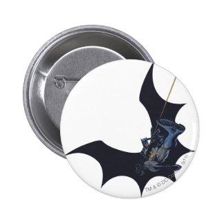 Städtische Legenden Batmans - 11 Runder Button 5,1 Cm