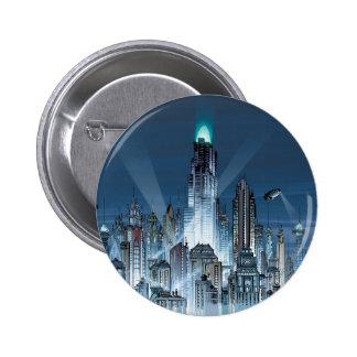 Städtische Legenden Batmans - BKGD 1 Runder Button 5,7 Cm