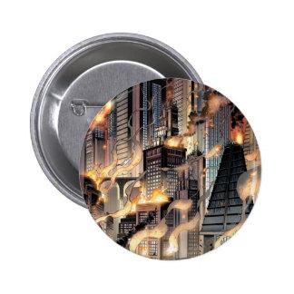 Städtische Legenden Batmans - BKGD 2 Runder Button 5,7 Cm
