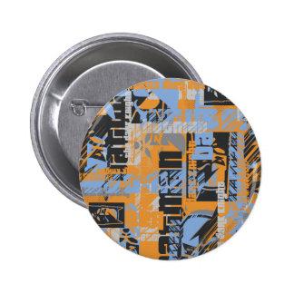 Städtische Legenden Batmans - dunkle Nachttext-Ora Runder Button 5,7 Cm