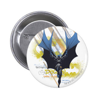 Städtische Legenden Batmans - dunkle Ritter-Graffi Runder Button 5,1 Cm