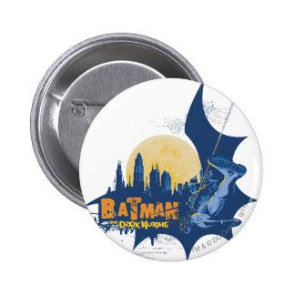 Städtische Legenden Batmans - dunkles Ritter-Stadt Runder Button 5,7 Cm