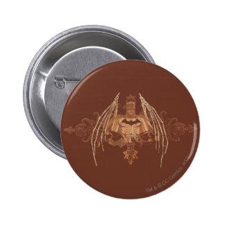 Städtische Legenden Batmans - Fledermaus-Flügel Runder Button 5,7 Cm