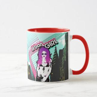 Städtische Mädchen-Tasse Tasse
