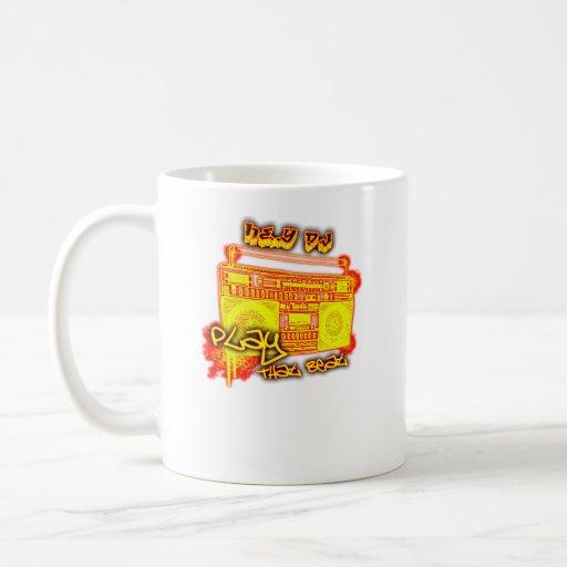 städtische Musik Angesagthopfen crunk Tanz des Mäd Kaffee Tassen